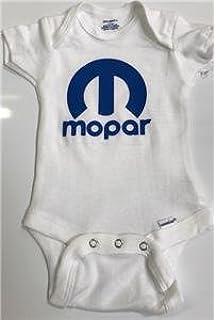 Cotton With Mopar Logo Mopar Boys Blue Logo Onezie Long sleeve Size 0-3 M
