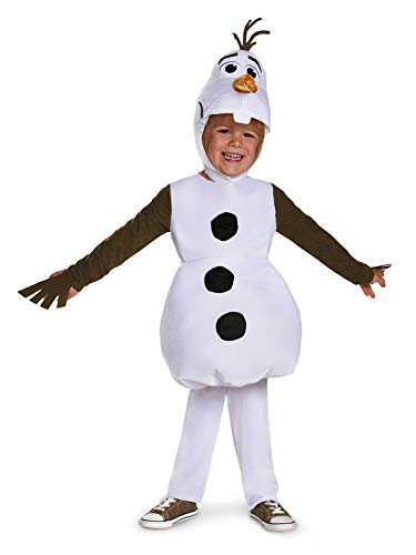 Disguise Olaf Toddler Classic Costume, Medium -