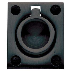 - Baldwin 0392.190 Satin Black Flush Ring Pull
