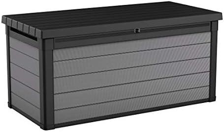 Keter 240303 Premier Deckbox, 150 l, Grau