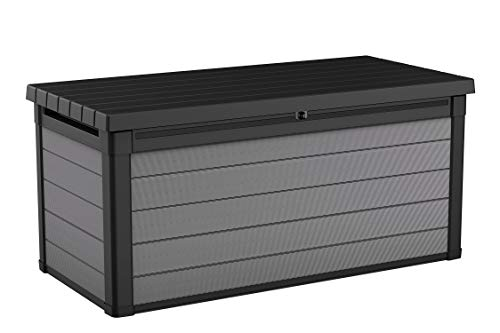 Keter 240303 Premier 150 Gallon Deck Box, Grey