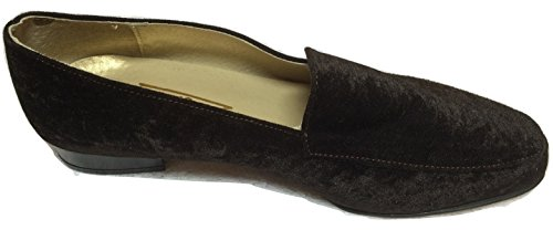 ZACCHO SHOES Brown Velour 768 BOXED SIZE 39 RRP £55.00 AyGBKWUQ