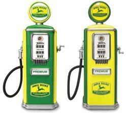 John Deere Mini Gas Pump DIECAST Tokheim (Various Colors) (Gas Pump Mini)