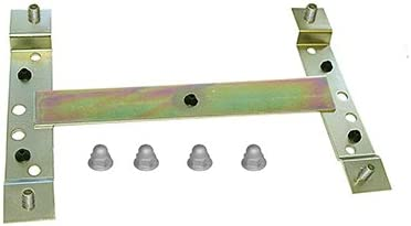 Front or Rear Including 4 Cap Nuts # 985941//MTC VM547, Volvo Models 31349166 License Plate Retainer MTC VM942