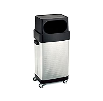 Amazon.Com: 17 Gallon Stainless Steel Rolling Trash Can: Home