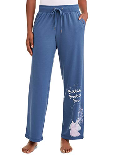 Disney Women's Cinderella Fairy Godmother Bibbidi Bobbedi Boo Pajama Pant (Medium (8-10)) -