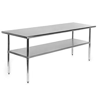 amazon com gridmann nsf stainless steel commercial kitchen prep rh amazon com