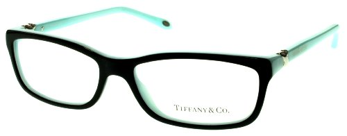 Tiffany & Co. TF2036 Eyeglasses Top Black/Blue (8055) TF 2036 8055 54mm - And Co Tiffany Glasses Eye