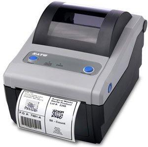 (Sato CG408 4.1IN 203 DPI USB IEEE1284 PARALLEL DT PRINTER . . . (142718))