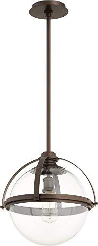 Quorum 88-15-86 Pendant, 1-Light, 60 Watts, Oiled Bronze