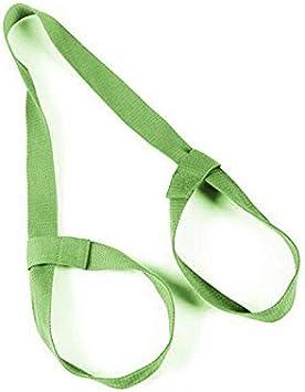 Koowaa Sangles de Yoga Tapis dexercice Sangles Corde Sangles de Yoga /élastiques bidirectionnelles Coton Tapis de Yoga Sangle Tapis Support de Transporteur Ceinture de Yoga et /élingues de Tapis