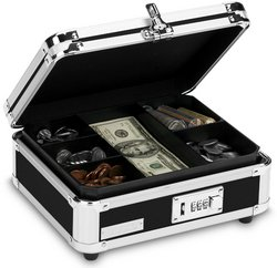 Vaultz(R) - Vaultz(R) Locking Cash Box (Cases of 4 items)