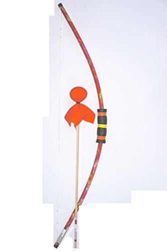 Two Bros Bows Orange Tie-Die Bow with Orange Arrow Archery Toy Set For Sale