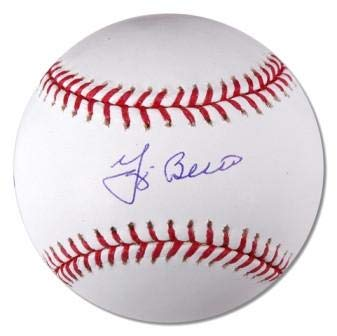 Yogi Berra Signed MLB Baseball
