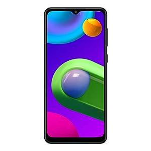 Samsung Galaxy M02 (Black,2GB RAM, 32GB Storage) | Dual Rear Camera | 6.5″ HD+ Display | Introductory Offer- Rs.200 Off