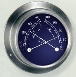 Victory BA983.3RF Thermometer/Hygrometer 3 3/8