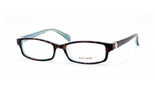 Kate Spade Elisabeth Eyeglasses-0JEY Tortoise Aqua-51mm