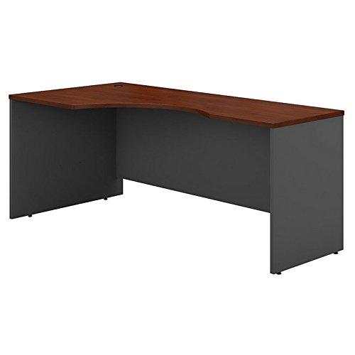 Bush Business Furniture Series C 72W Left Handed Corner Desk in Hansen Cherry by Bush Business Furniture