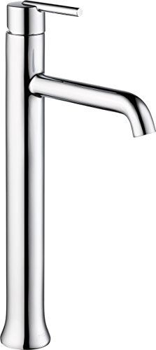 Delta 759-DST Trinsic Single-Handle Vessel Bathroom Faucet with Diamond Seal Technology, Chrome by DELTA FAUCET