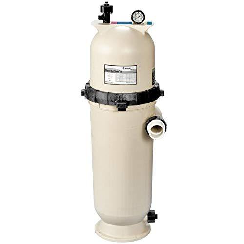 Pentair 160354 Clean & Clear RP Fiberglass Reinforced Polypropylene Tank Cartridge Pool Filter, 100 Square Feet, 100 GPM (Residential)