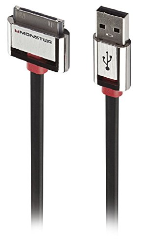 Monster MBL AI IC IPAD USB-1M WW USB Cable (Monster Ipod Cable)