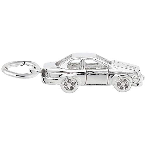 Rembrandt Charms Car Charm, Sterling Silver