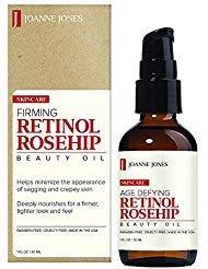 Joane Jones Firming Retinol Rose Hip Beauty Oil 1oz / 30ml