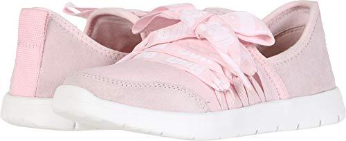 UGG Girls' K Seaway Sneaker, Seashell Pink, 5 M US Big Kid