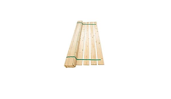 Juego de listones de madera de pino macizo de repuesto para ...