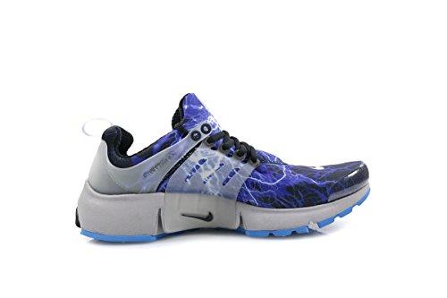 Cheap Nike Mens Air Presto QS Black/Zen Grey-Harbor Blue Synthetic Size M