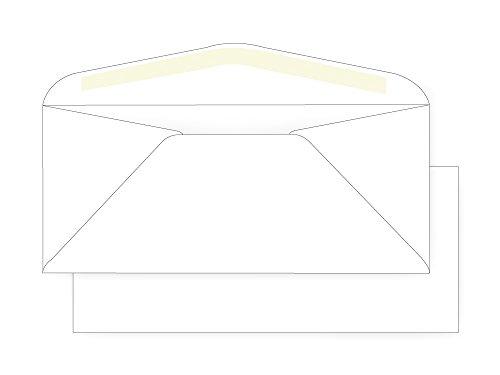 - #11 Regular Envelope - 24# White Wove (4 1/2 x 10 3/8) - Commercial Envelope Series (Pkg of 100)