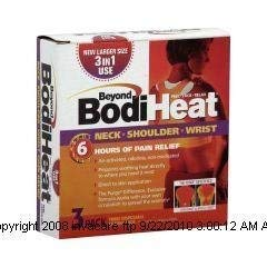 Beyond BodiHeat Neck, Shoulder, and Wrist Pain Relief-