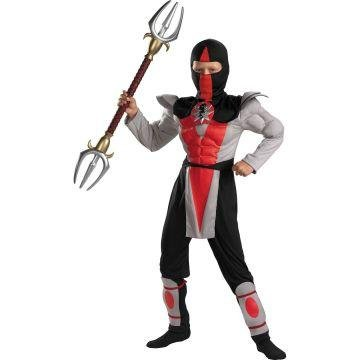 Amazon.com: Bounty Hunter Muscle Ninja Child Costume - Small ...