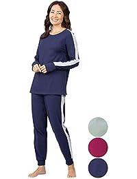 Womens Pajama Sets - Sweatsuits for Women, Side Stripe