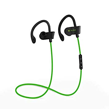Earbuds D-20 - Auriculares de Diadema Deportivos, Color Verde ...