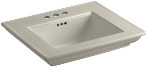 KOHLER K-2345-4-G9 Memoirs Bathroom Sink Basin with Stately Design and 4