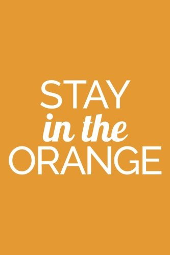 Stay In The Orange (6x9 Journal): Lined Writing Notebook, 120 Pages ? Orange with Empowering, Motivational Quote PDF