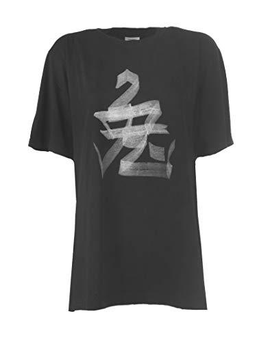 Cotone Donna shirt Vetements T Nero Uss197051rabbitblack OvSvRwq