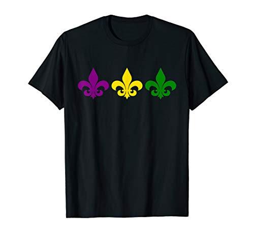 Fleur De Lis T Shirt Mardi Gras New Orleans Costume]()