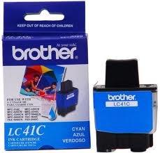 1840c Inkjet (Genuine OEM brand name BROTHER 1840C/1940CN/2440C Cyan Inkjet Cartridge (400 Yield) LC41C)