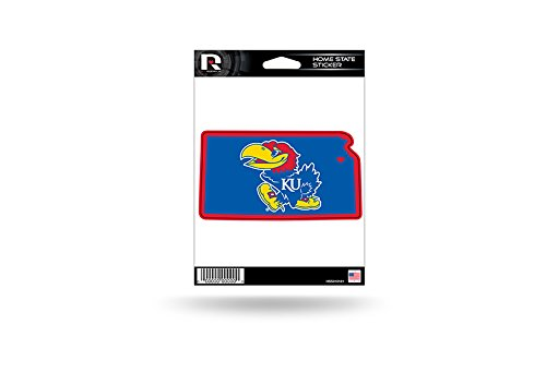 Rico Industries NCAA Kansas Jayhawks Home State Sticker ()