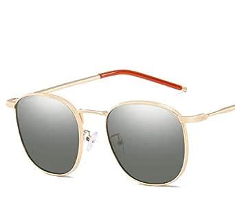 Sunglasses for unisex metal frame UV protection high-definition sunglasses