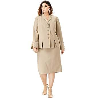 Amazon.com: Roamans - Falda con botones para mujer: Clothing