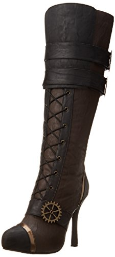 Ellie Shoes Women's 420 Quinley Boot, Brown, 12 M US