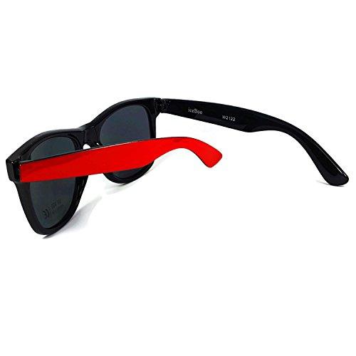 New Wayfarer Vintage Gafas Retro UV400 sol Espejo tonos de Azul Classic Lentes dos Unisex de gRgrTwqBdx
