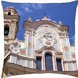 Italian church - Throw Pillow Cover Case (18