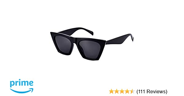 Mosanana Square Cateye Sunglasses for Women Fashion Trendy Style MS51801