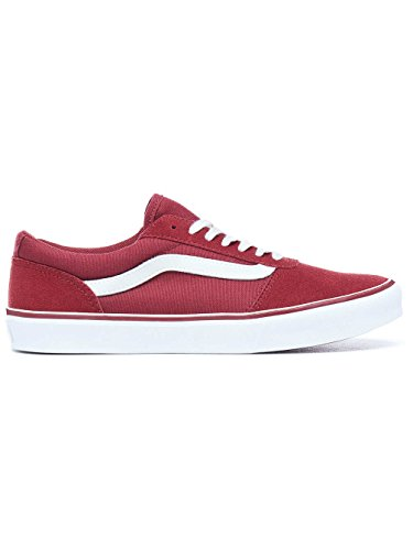 Low Canvas Nero R6y Vans WoMen Red Canvas Maddie Suede Cabernet Top Suede Sneakers wZAIt