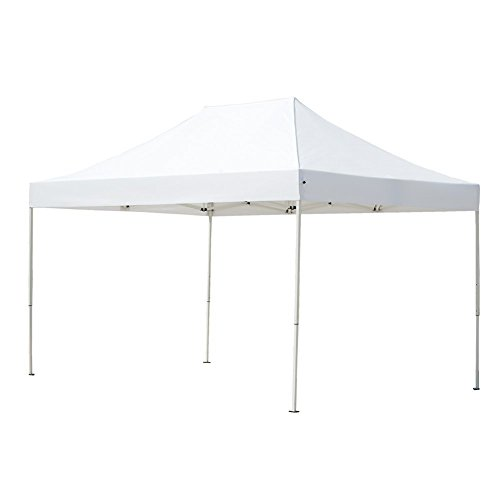 Abba Patio Replacement Canopy Top for 10 x 15 ft Outdoor Instant Canopy, White (Frame not Include)