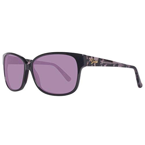 (Guess Women's Designer Sunglasses, Black/Grey Gradient, 60-13-135)